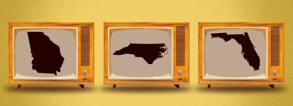 Polls close in Georgia, North Carolina and Florida at 7