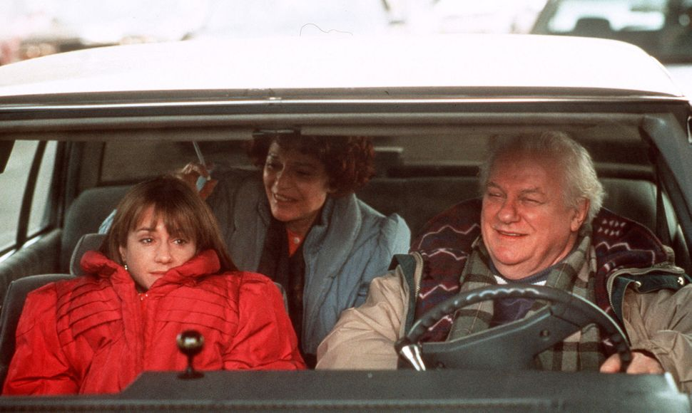 Holly Hunter, Anne Bancroft and Charles Durning in