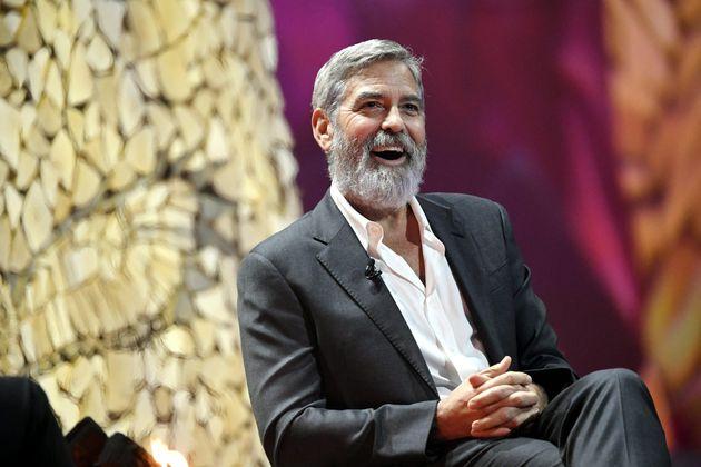 George Clooney, ici à Helsinki en Finlande, en octobre