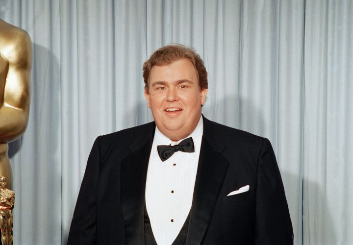 John Candy at the Academy Awards in April 1988.