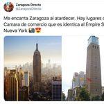 Las respuestas a este tuit comparando un edificio de Zaragoza con el Empire State son lo mejor que verás