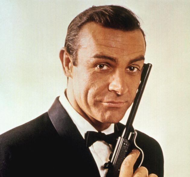 Sean Connery sur le tournage de