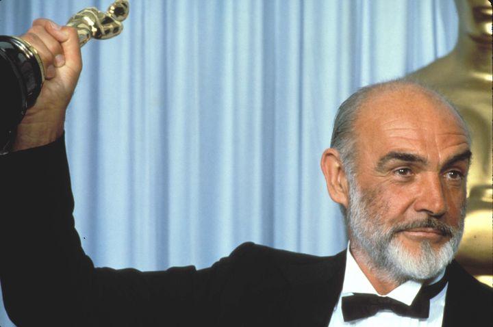 Sean Connery ganó el Oscar por Los Intocables en 1987.