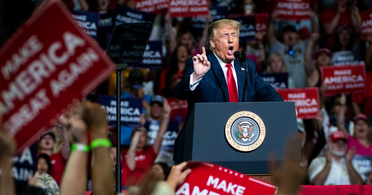 Trump Rallies Led To '30,000 Coronavirus Cases And 700 Deaths'