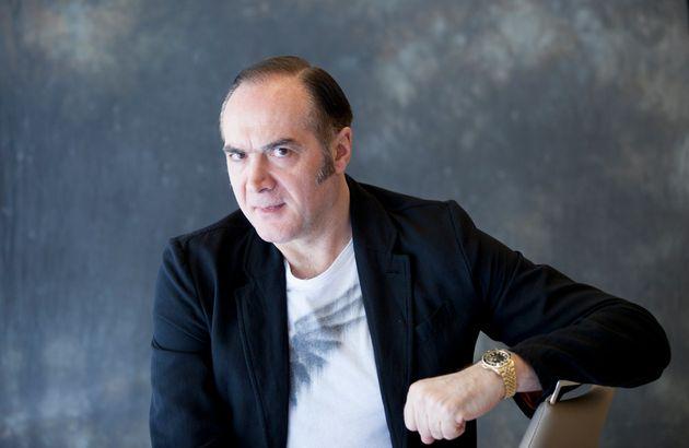 Aurelio Picca, Italian writer, Milan, Italy, 6th October 2014. (Photo by Leonardo Cendamo/Getty