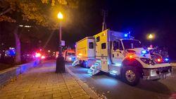 À Québec, 2 morts et 5 blessés dans une attaque à l'épée le soir
