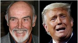 Donald Trump Pays Tribute To Sean Connery And Manages To Make It All About