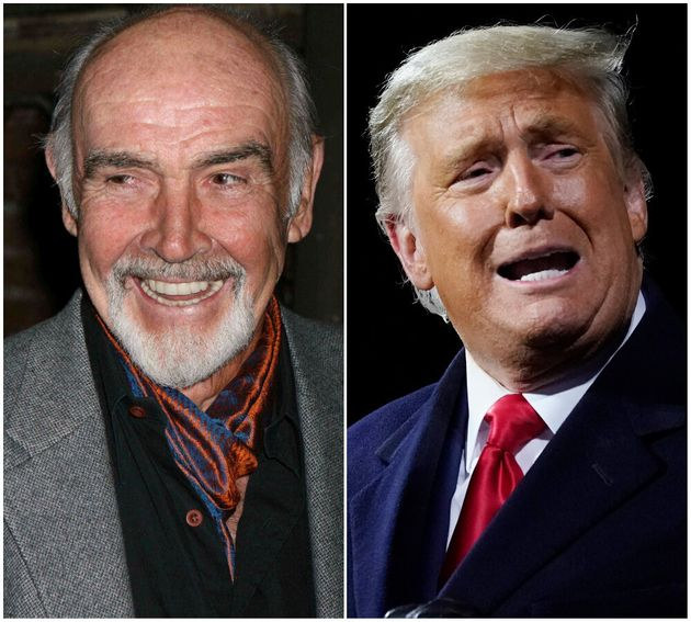 Sean Connery and Donald