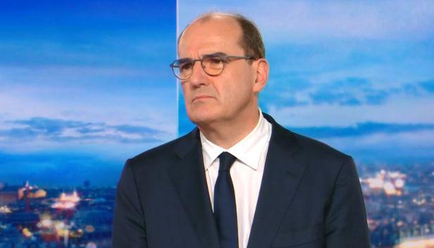 Jean Castex, Premier ministre, sur TF1 le 1er novembre