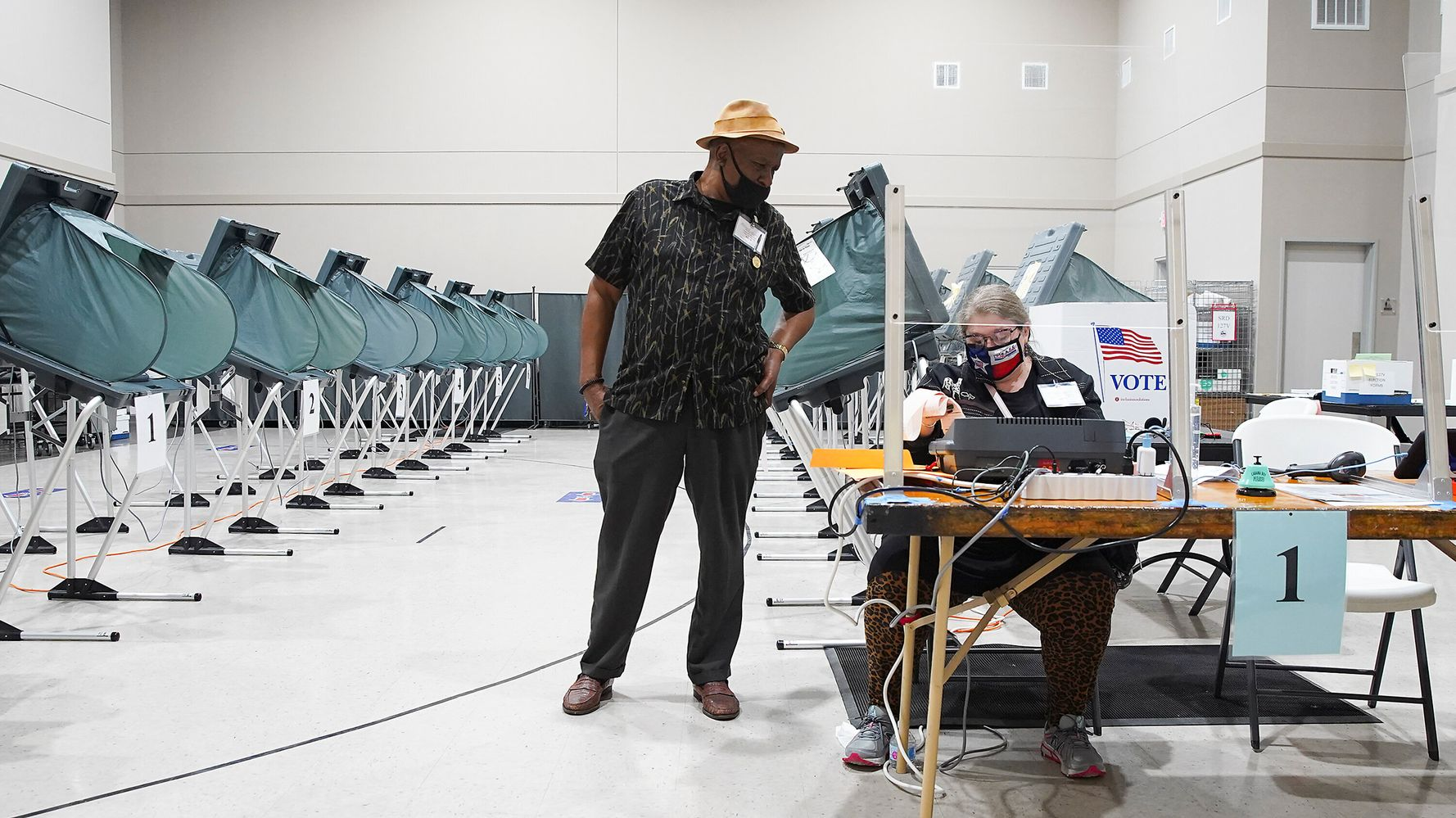 COVID-19 Surge Ahead Of Election Day Creates Concerns For Polling Places