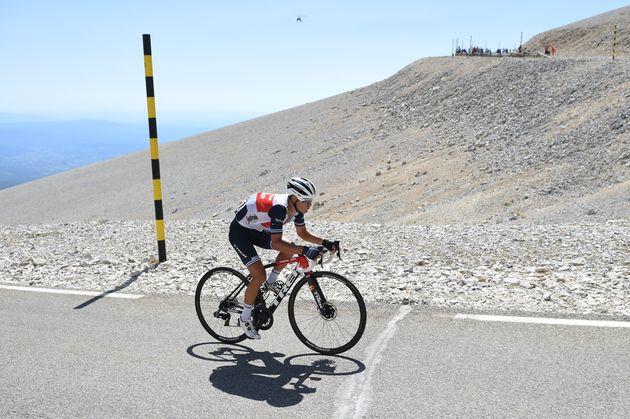 Sur le Tour de France 2021, le Mont Ventoux sera escaladé deux fois en une étape (photo: Richie Porte...