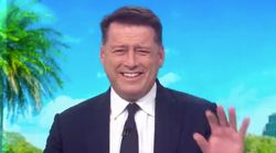 Karl Stefanovic Erupts In Laughter Over Hilarious Fail At Trump Iowa