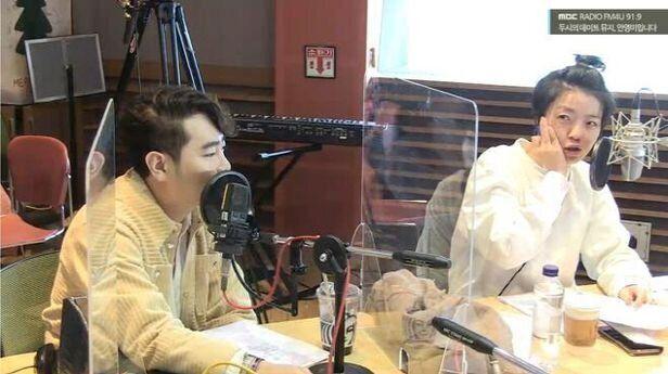 '보이는 라디오'로 진행된 MBC 라디오'두시의 데이트 뮤지,