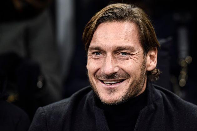 STADIO GIUSEPPE MEAZZA, MILAN, ITALY - 2019/12/06: Francesco Totti attends the Serie A football match...