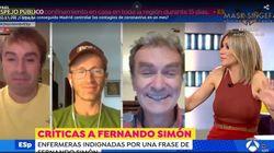 Susanna Griso define a Fernando Simón en una frase: un piropo y de inmediato una