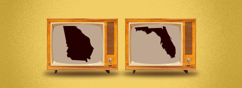Polls close at 7 p.m. in Georgia and Florida.