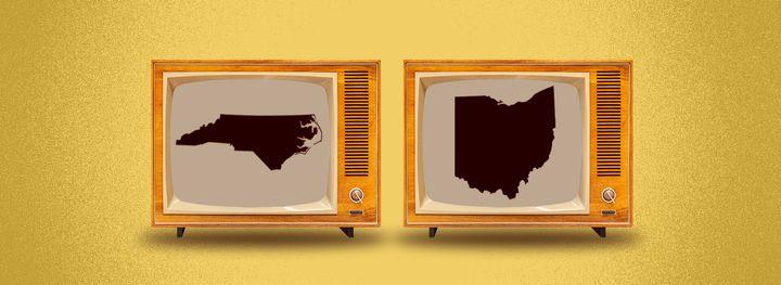 Polls close in North Carolina and Ohio at 7:30 pm (11.30 am Nov 4 AEDT).