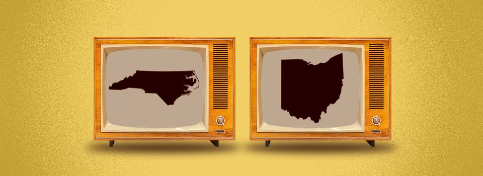Polls close in North Carolina and Ohio at 7:30