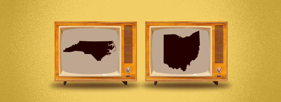 Polls close in North Carolina and Ohio at 7:30 p.m.