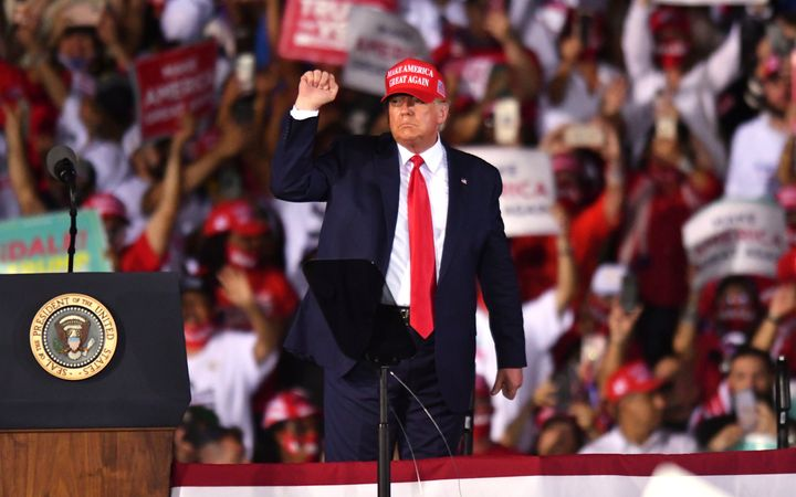 President Donald Trump's campaign is fighting to make sure fewer votes are counted.