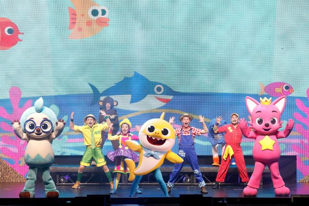 A photo taken during Baby Shark Live! last