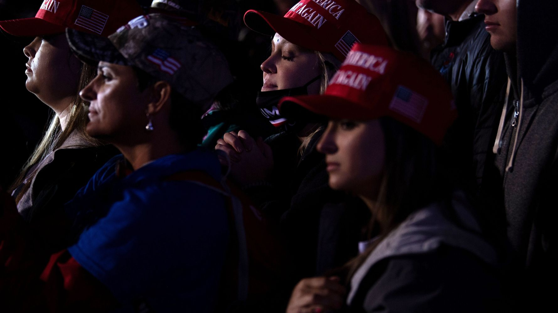 Yet Again, Trump Rally Attendees Stranded On-Site For Hours After Trump Leaves