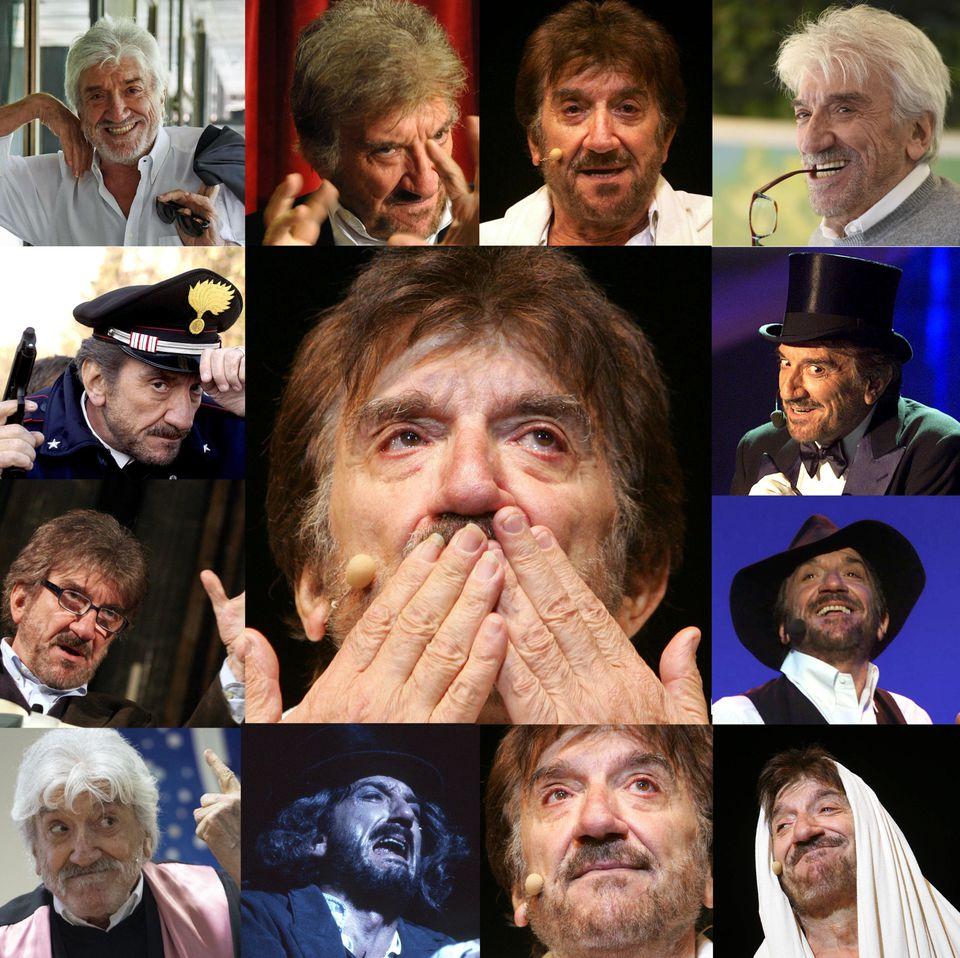 Una combo che raccoglie alcuni dei momenti della carriera di Gigi Proietti.