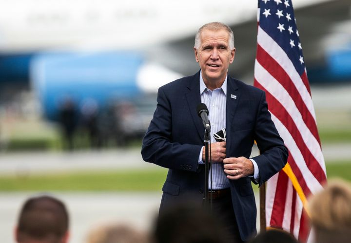 Sen. Thom Tillis (R-N.C.) was one of Democrats' biggest targets in the 2020 cycle.