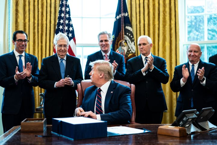 President Donald Trump had plenty of help from his party and ideological allies in botching the United States' coronavirus re