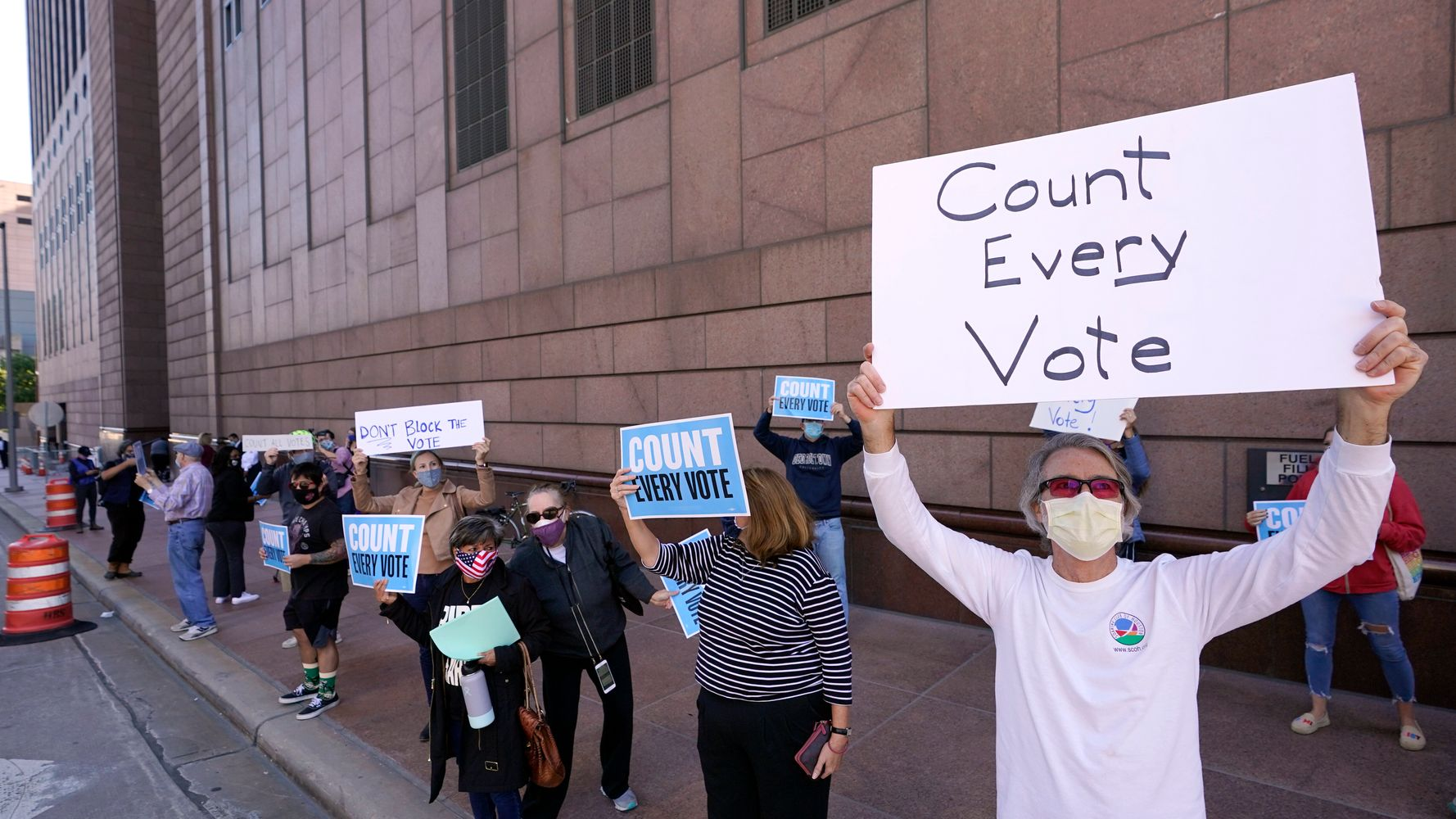 Federal Judge Rejects Republican Bid To Toss Out 127,000 Ballots In Texas