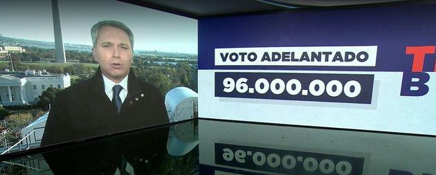 Vicente Valles, en 'Antena 3 Noticias' desde