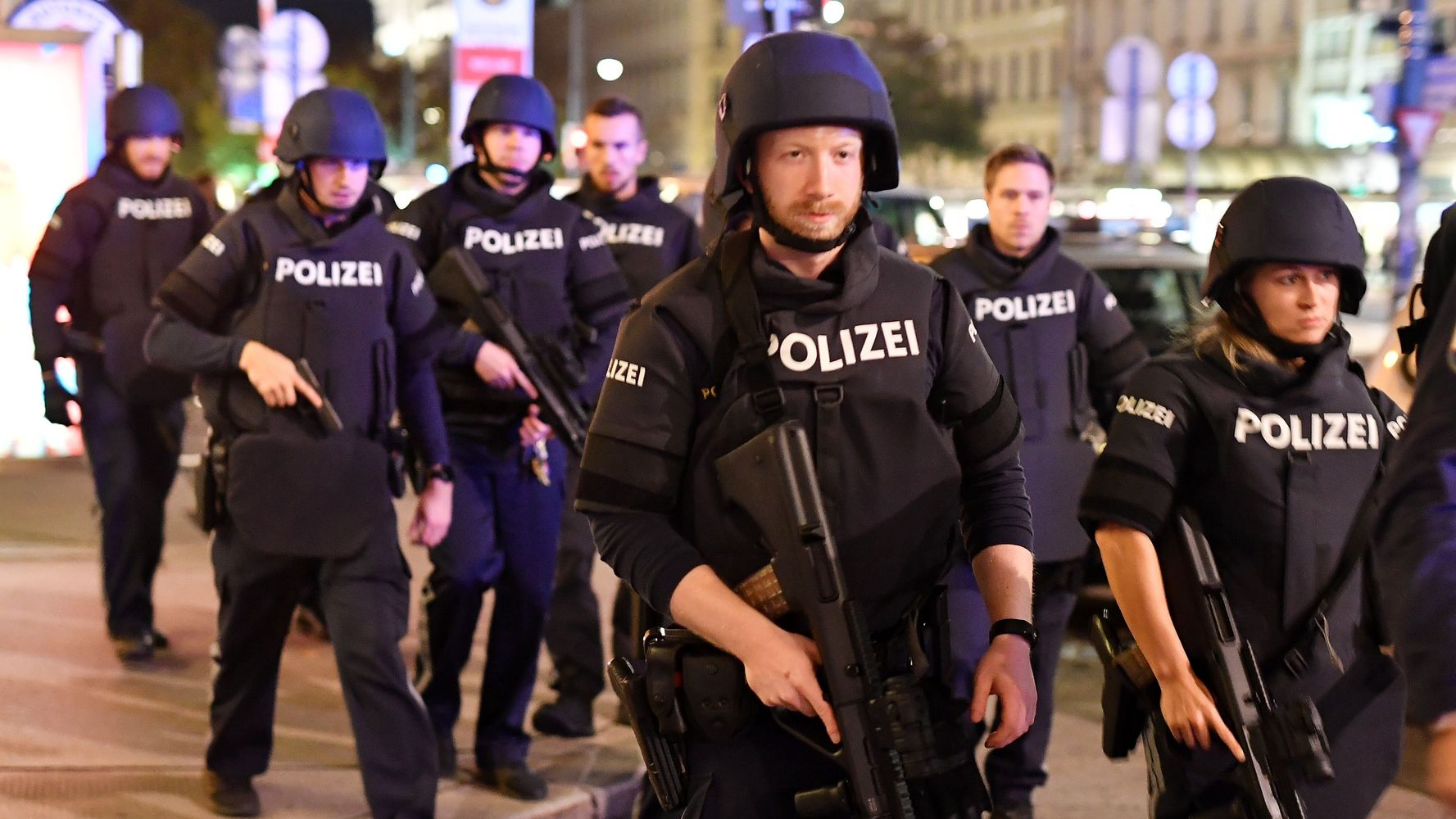 Austrian Police Say Several Injured After Gunfire In Vienna