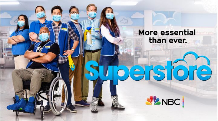 "The comedy ""Superstore"" is another TV show addressing the coronavirus pandemic and realities of essential workers in its new"