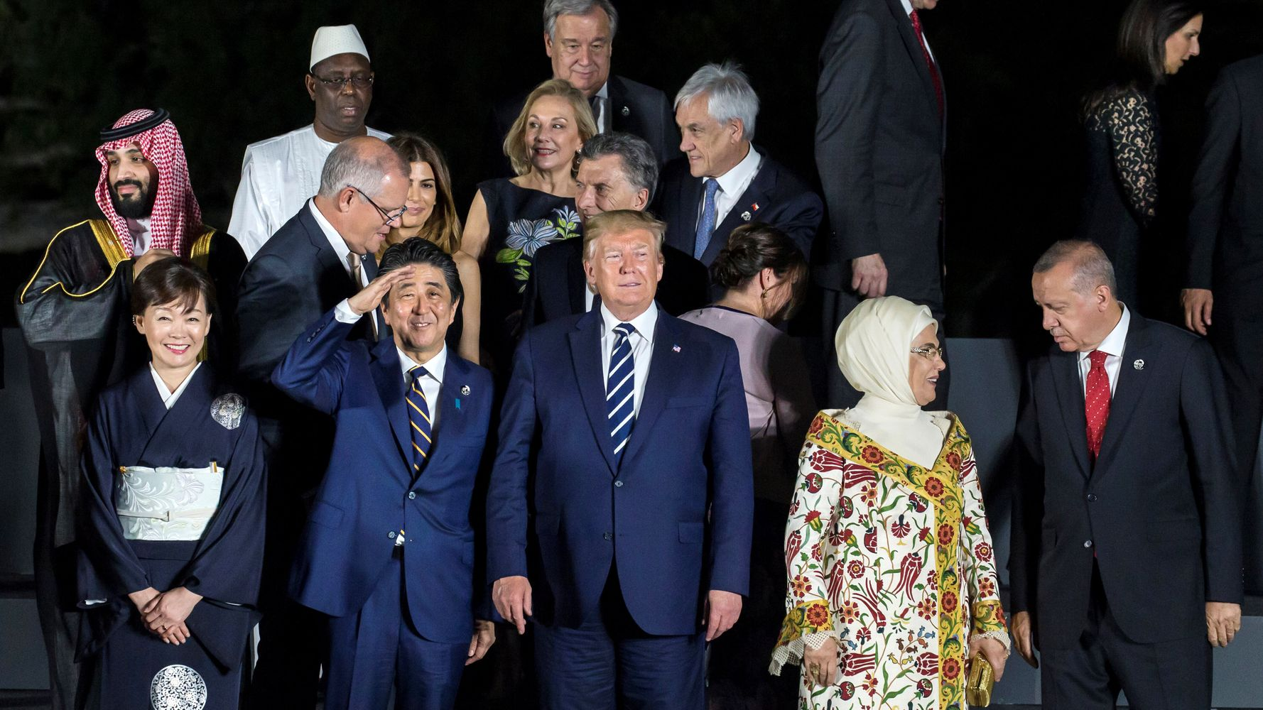 Foreign Leaders Plan For Trump-Fueled Chaos In The U.S.