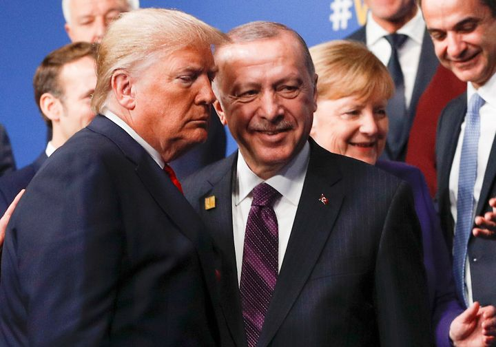 President Donald Trump and Recep Tayyip Erdogan of Turkey have grown close, united in a disdain for journalists and democrati