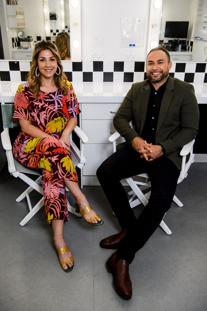 NITV will air the first all-Indigenous breakfast show, 'Big Mob Brekky' hosted by Shahni Wellington and Ryan Liddle (pictured). It will feature special guests and entertainment, sport and lifestyle segments along with community callouts.