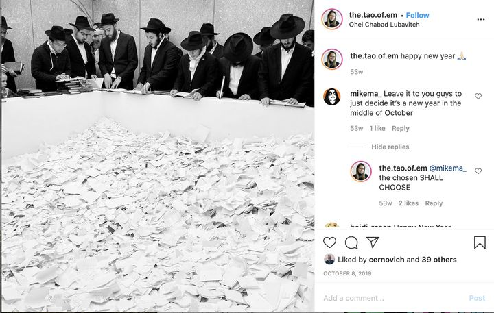 Morris jokes about Jews on Instagram with far-right extremist Mike Mahoney.