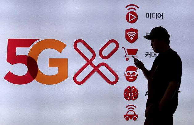 국내 5G 이동통신 가입자가 900만명을