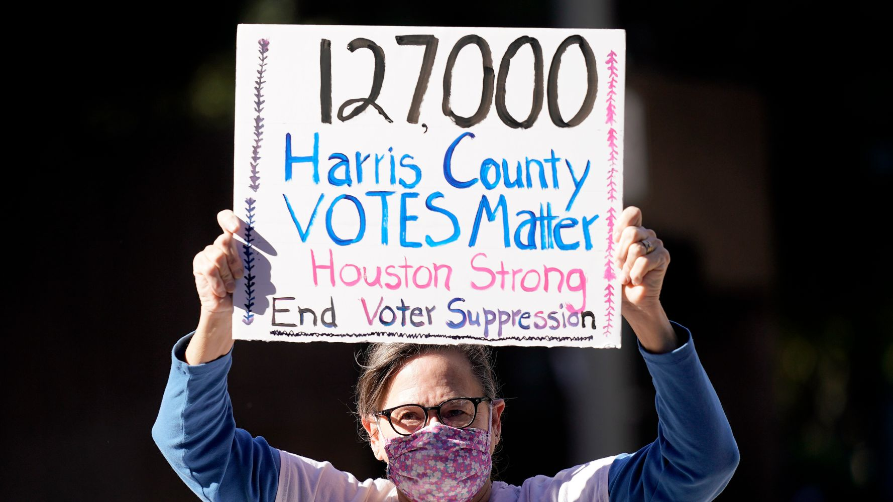 Texas' Harris County Will Close 9 Of 10 Drive-Thru Polling Sites On Election Day