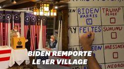 Ce village a déjà voté à 100% pour Biden mais ce n'est pas forcément un bon