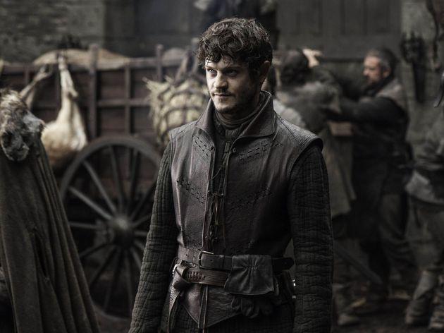 El actor Iwan Rheon como Ramsay Bolton en 'Juego de