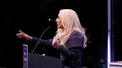 Lady Gaga pide el voto para Biden: