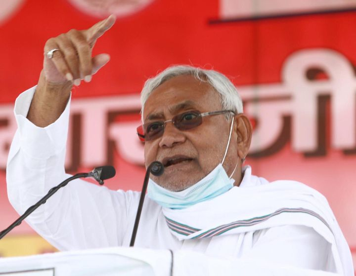 Nitish Kumar is squeezed between the BJP, which could try to sideline him after the election, and LJP, which has been throwing insults at him.