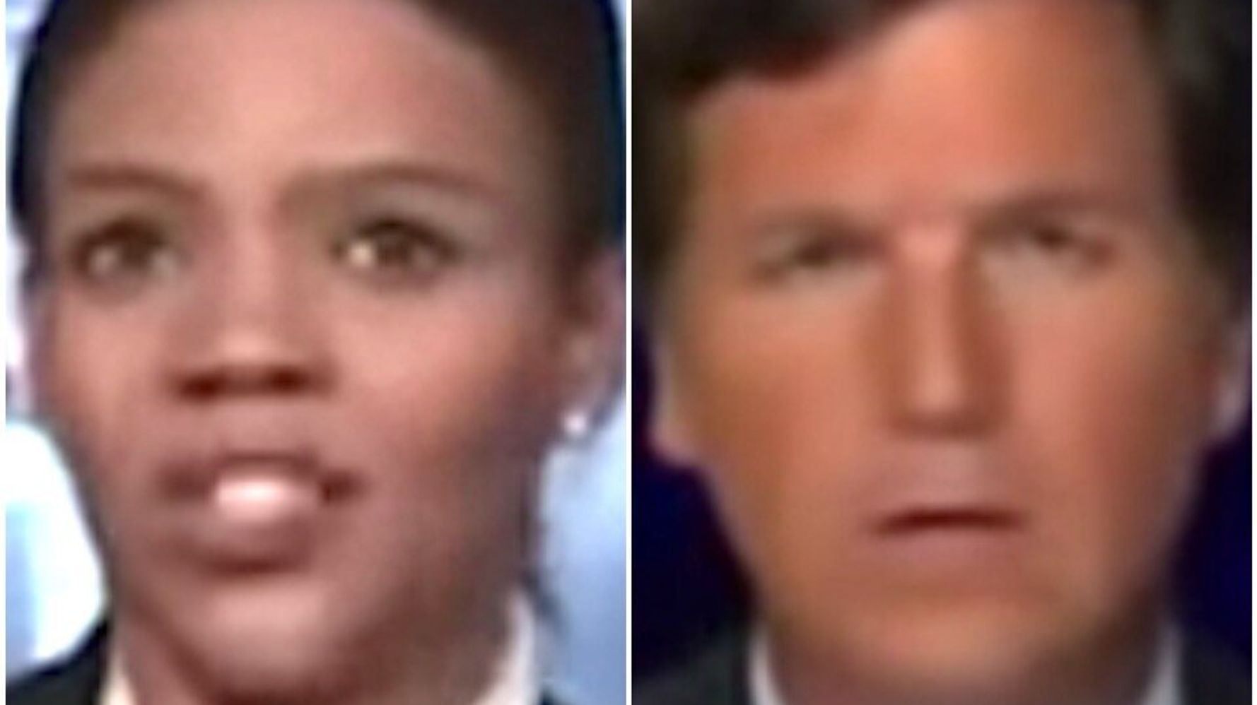 Candace Owens Hilariously Botches Her Elect-Trump Plea On 'Tucker Carlson'