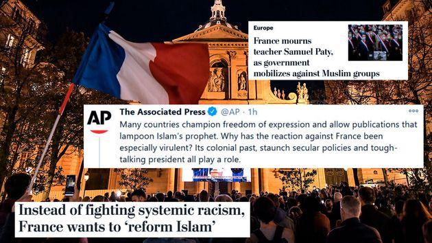 Depuis la vague d'attaques islamistes en France (Samuel Paty à Conflans-Sainte-Honorine, à la basilique...