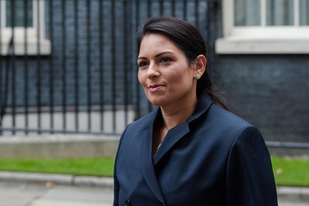 Home secretary Priti Patel said it was the government's duty to