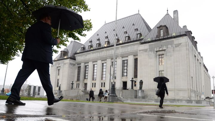 The Supreme Court of Canada building is pictured in Ottawa on Oct. 15, 2014.