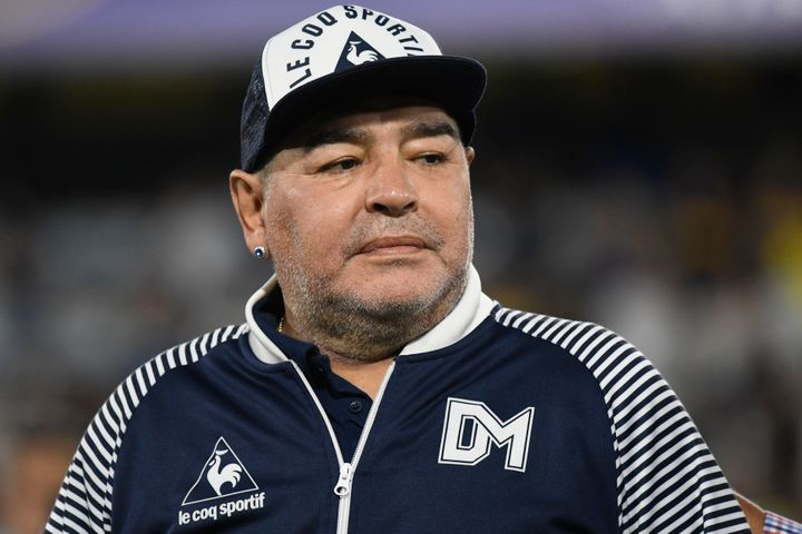 Diego Armado Maradona, el 7 de marzo de 2020.
