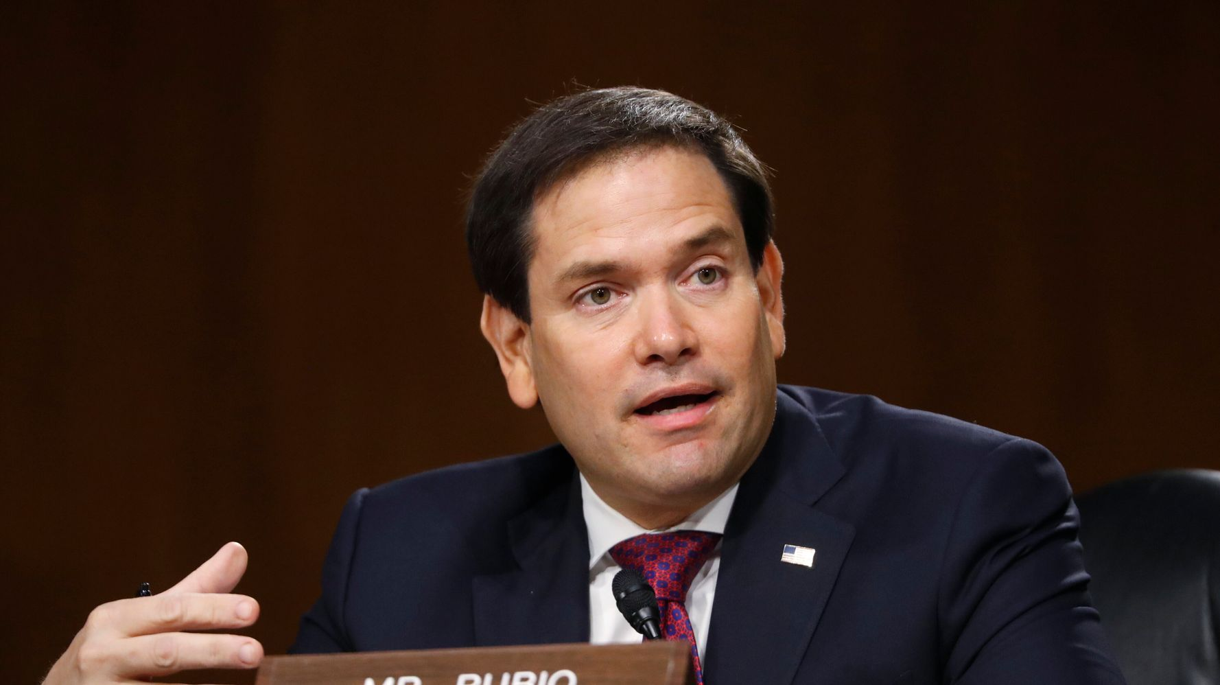 Marco Rubio Makes A Very Poor GIF Choice To Predict How Florida Will Vote