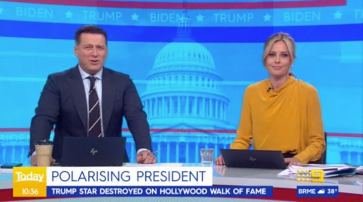 'Today' host Karl Stefanovic dissects US President Donald Trumps' 'YMCA' supercut.